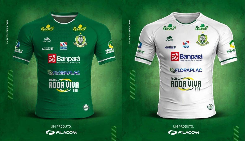 Camisas do Paragominas FC 2020 Jacaré