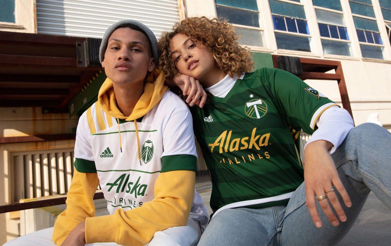 Camisas do Portland Timbers 2020 Adidas abre