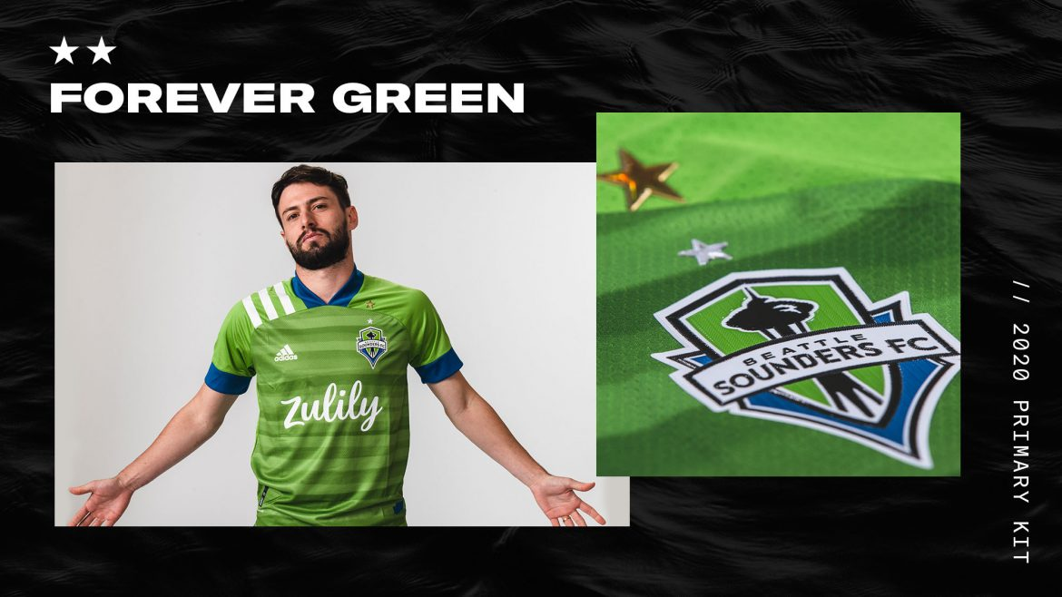 Camisas do Seattle Sounders 2020 Adidas abre