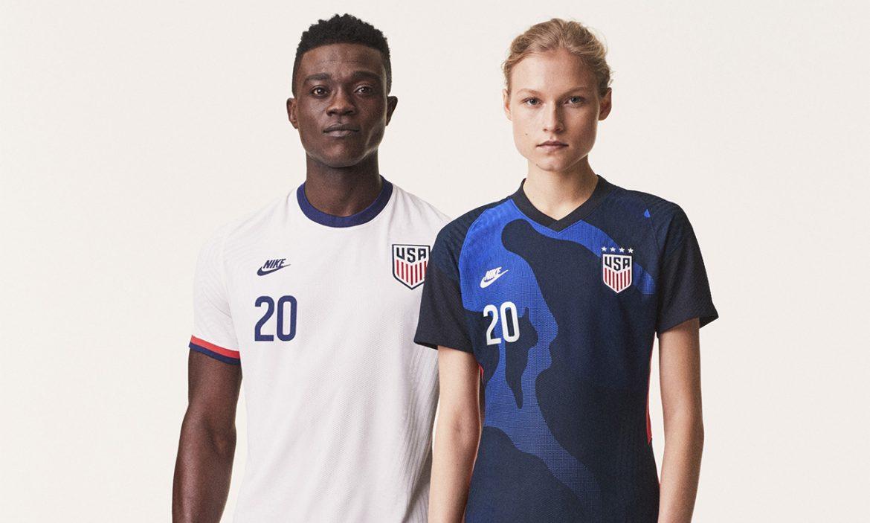 Camisas dos EUA 2020-2021 Nike