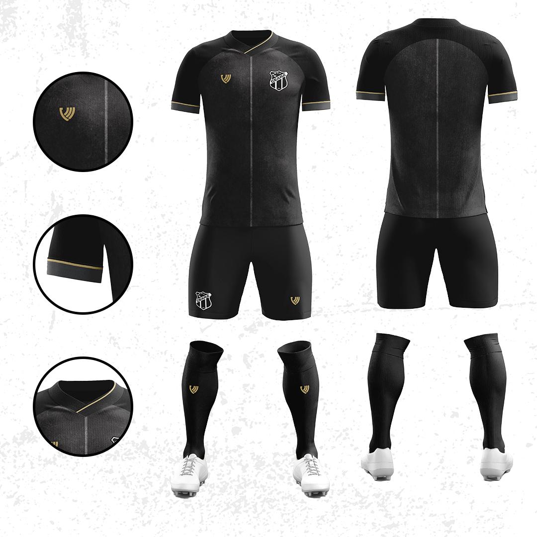 Terceira camisa do Ceará 2020-2021 Vozão Nação AlvinegraTerceira camisa do Ceará 2020-2021 Vozão Nação AlvinegraTerceira camisa do Ceará 2020-2021 Vozão Nação Alvinegra