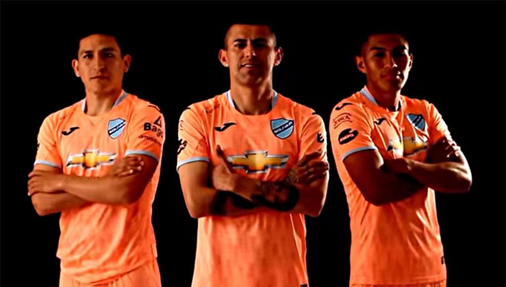 Terceira camisa do Club Bolívar 2020 JOMA