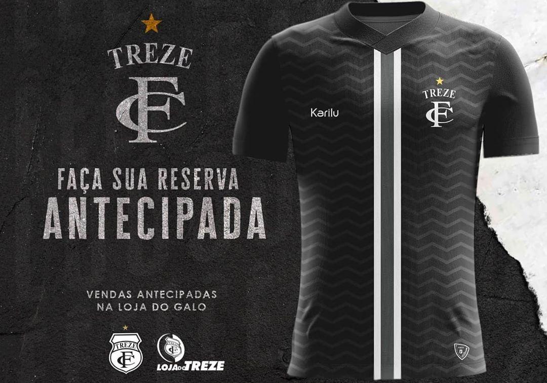 Terceira camisa do Treze FC 2020 Karilu