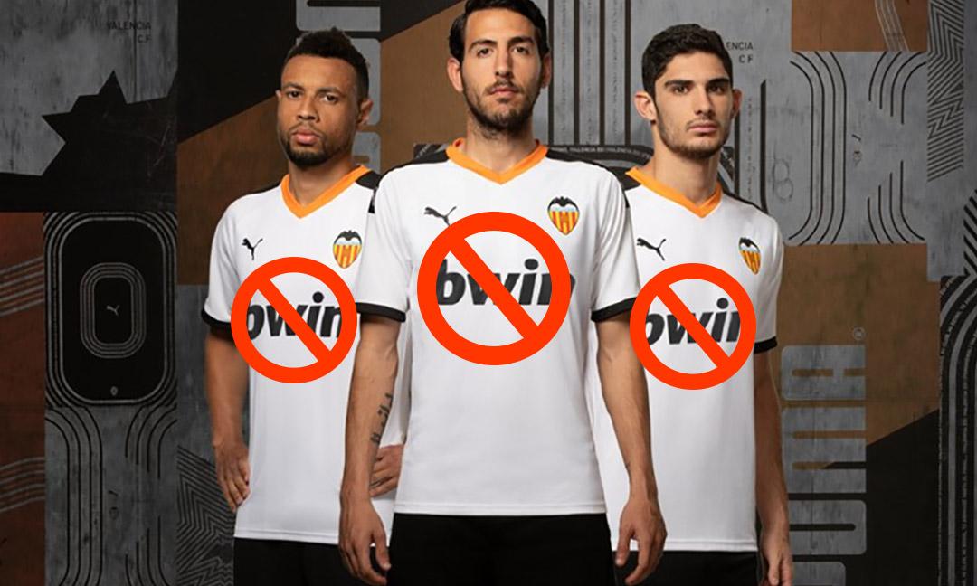 Valencia veto Bwin