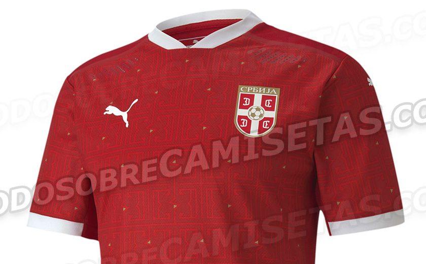 Camisas da Sérvia 2020-2021