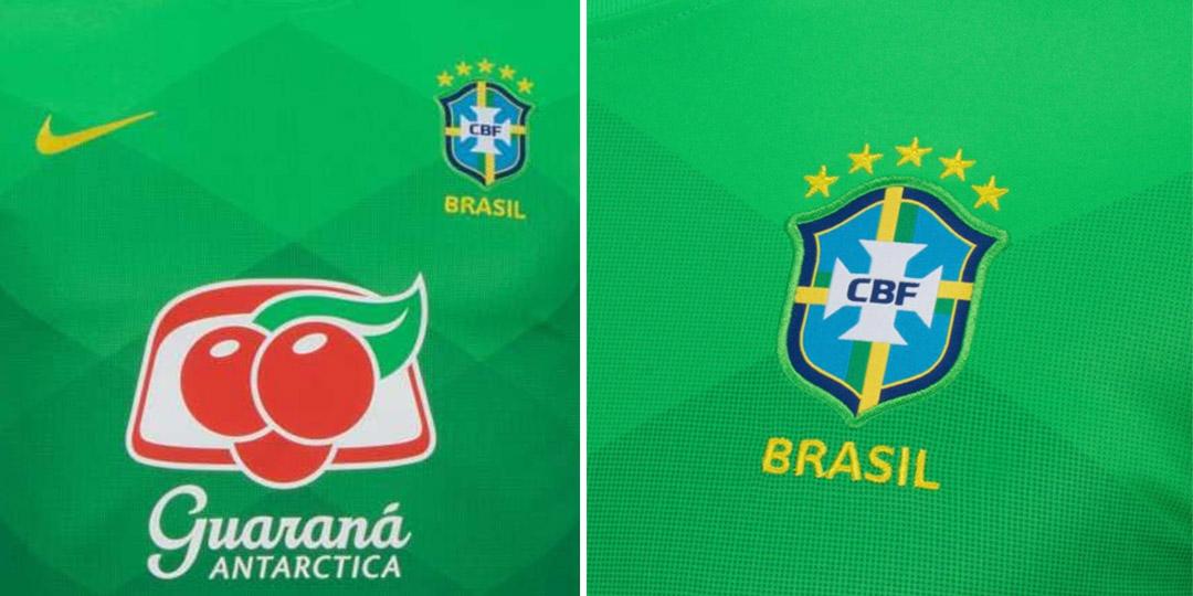 Camisa de aquecimento da Seleção Brasileira 2020-2021 Nike a
