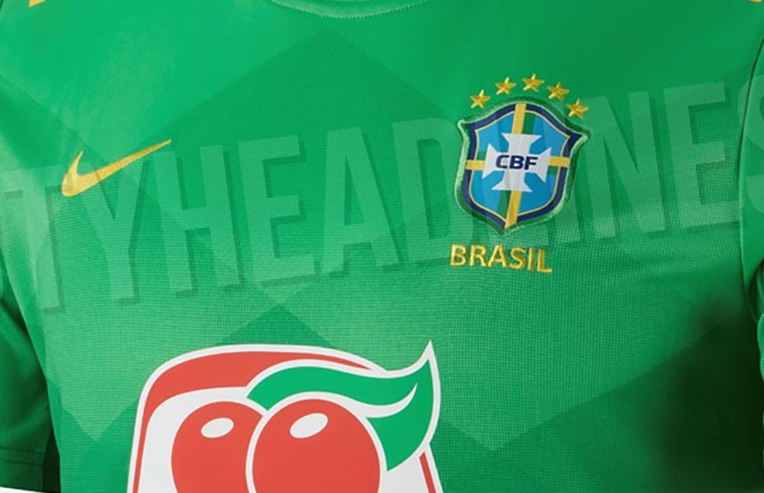 Camisa de aquecimento da Seleção Brasileira 2020-2021 Nike