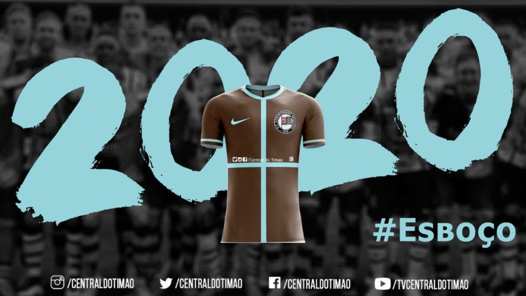 Camisa três do Corinthians deve trazer escudo de 1919