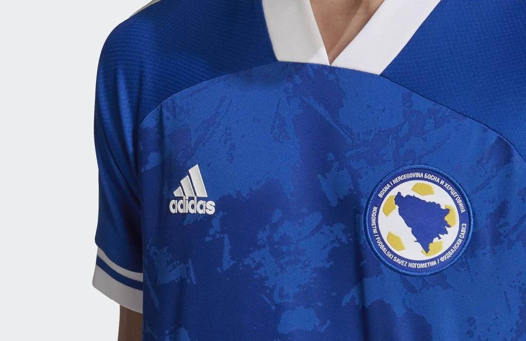 Camisas da Bósnia Herzegovina 2020-2021 Adidas