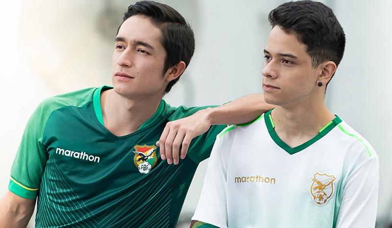 Camisas da Bolívia 2020 Marathon