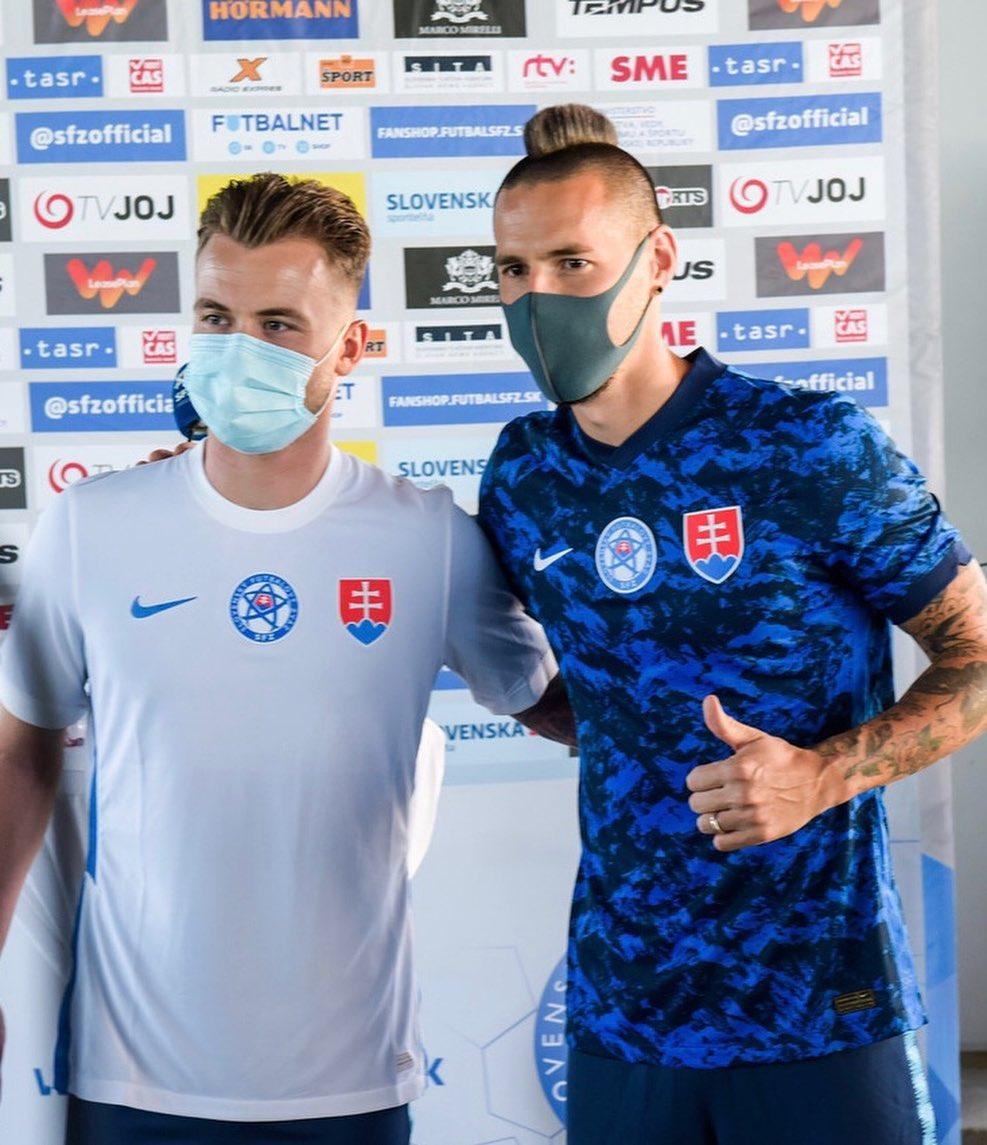 Camisas da Eslováquia 2020-2021 Nike Reserva