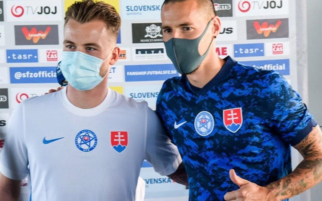 Camisas da Eslováquia 2020-2021 Nike