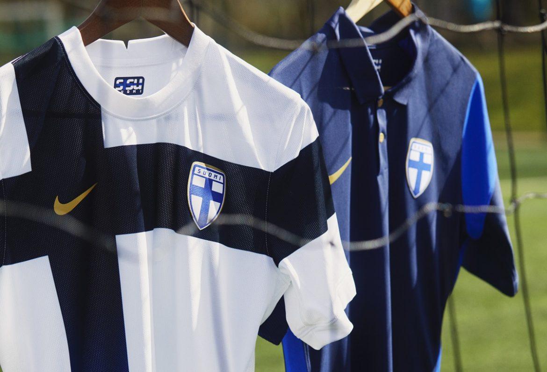 Camisas da Finlândia 2020-2021 Nike Eurocopa