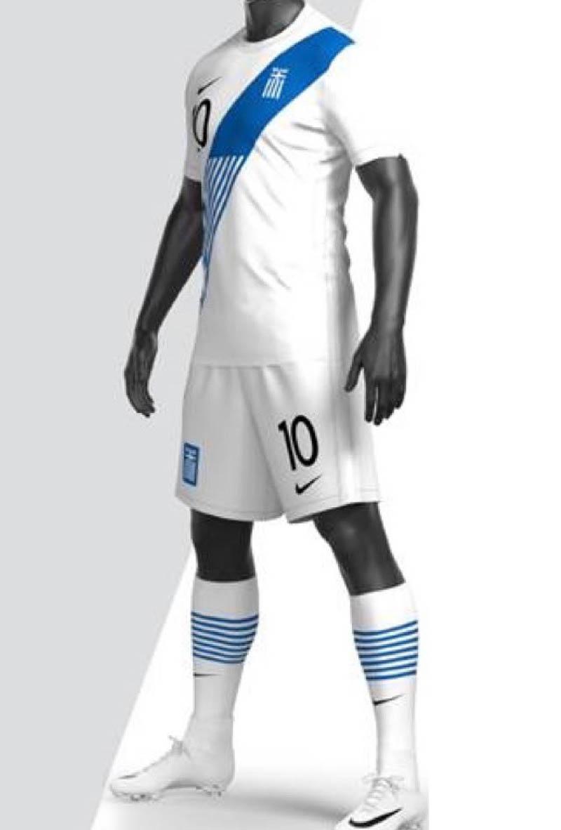 Camisas da Grécia 2020-2021 Nike Titular kit