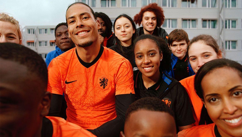Camisas da Holanda 2020-2021 Nike a
