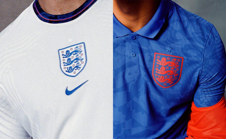 Camisas da Inglaterra 2020-2021 Nike a