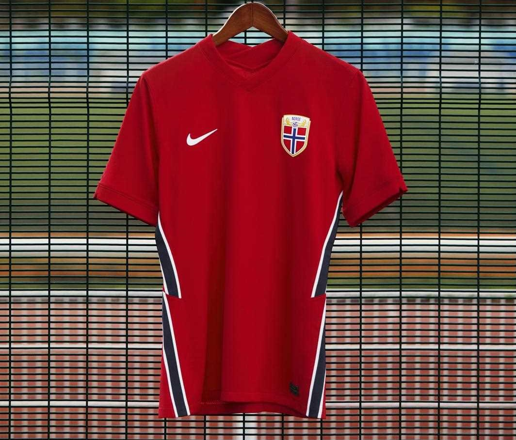 Camisas da Noruega 2020-2021 Nike