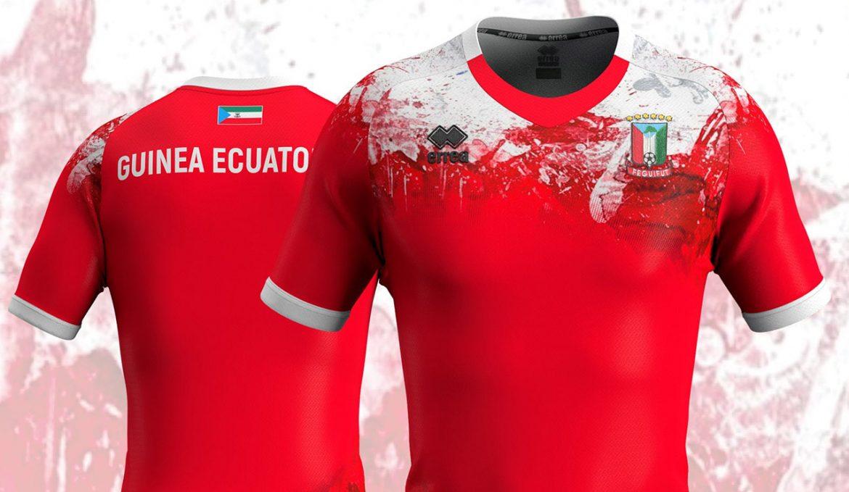 Camisas da Seleção de Guiné Equatorial 2020-2021 Erreà abre