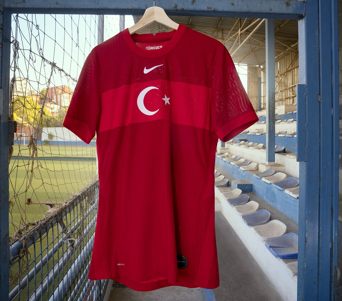 Camisas da Turquia 2020-2021 Nike Eurocopa