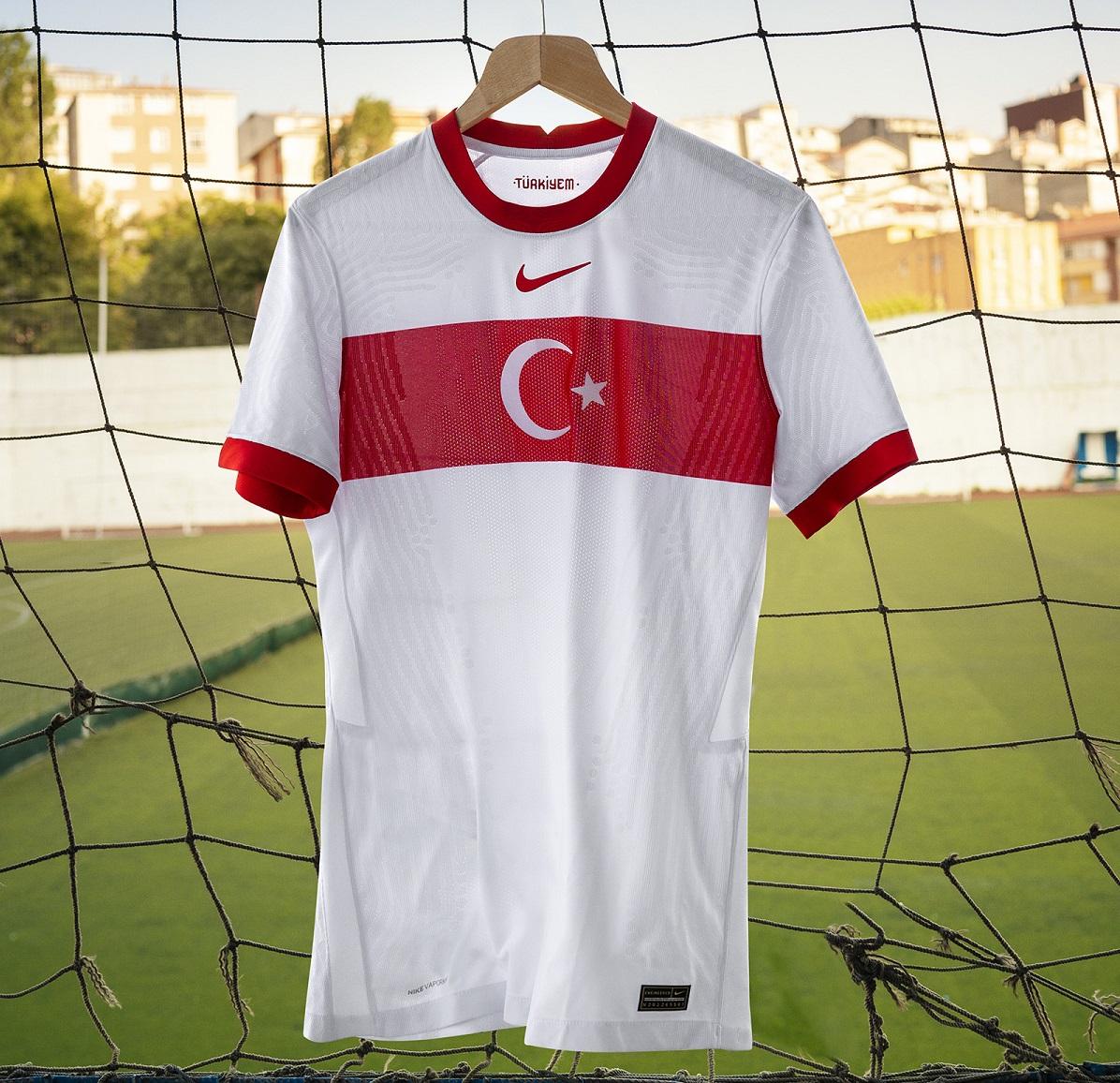 cordura atmósfera salir  Novas camisas da Seleção da Turquia 2020-2021 Nike | Eurocopa » MDF