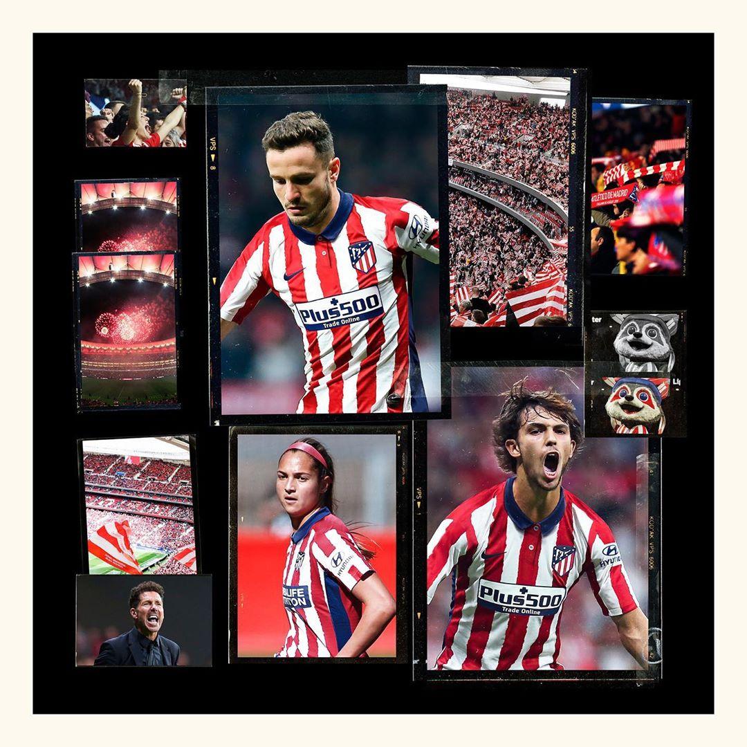 Camisas do Atlético de Madrid 2020-2021 Nike 5