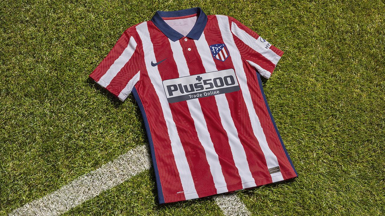 Camisas do Atlético de Madrid 2020-2021 Nike
