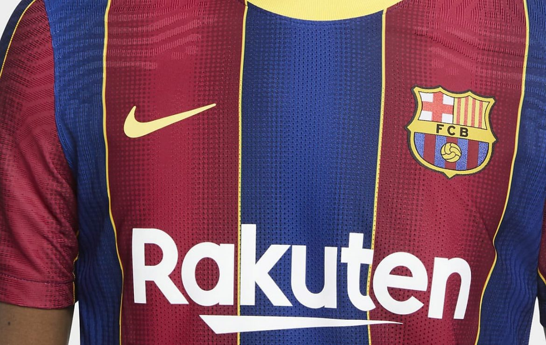 Camisas do Barcelona 2020-2021 Nike a