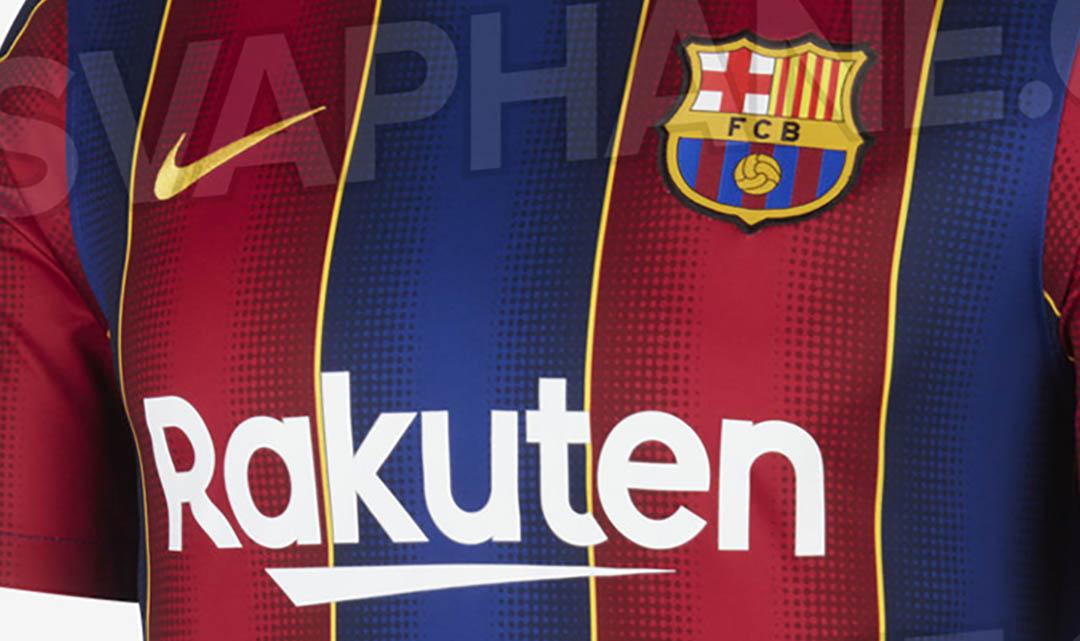 Camisas do Barcelona 2020-2021 Nike