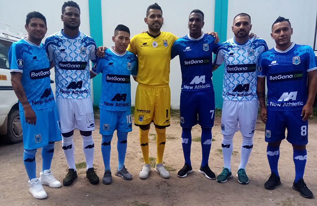 Camisas do Binacional Libertadores 2020 New Athletic