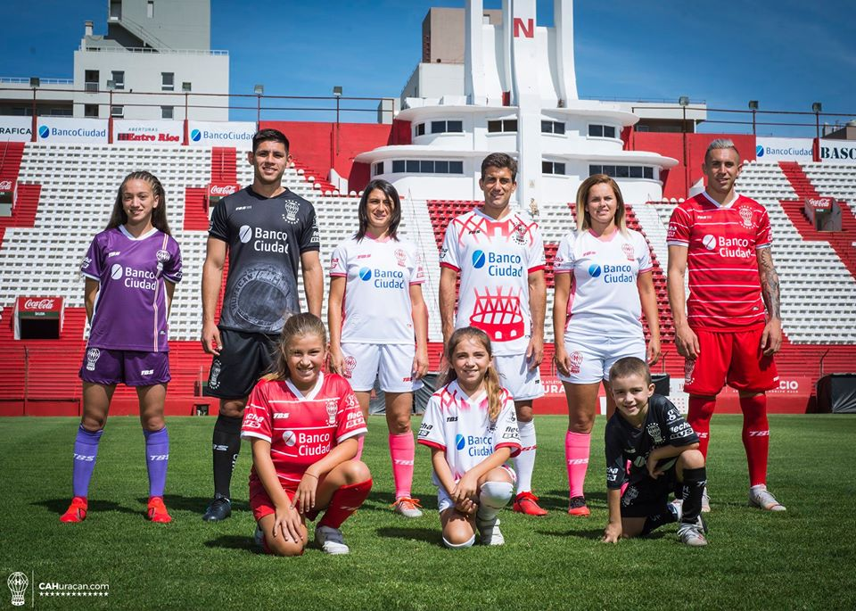 Camisas do CA Huracán 2020-2021 TBS