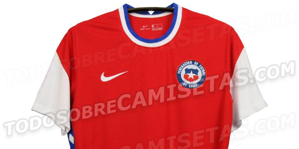 Camisas do Chile 2020-2021 Nike