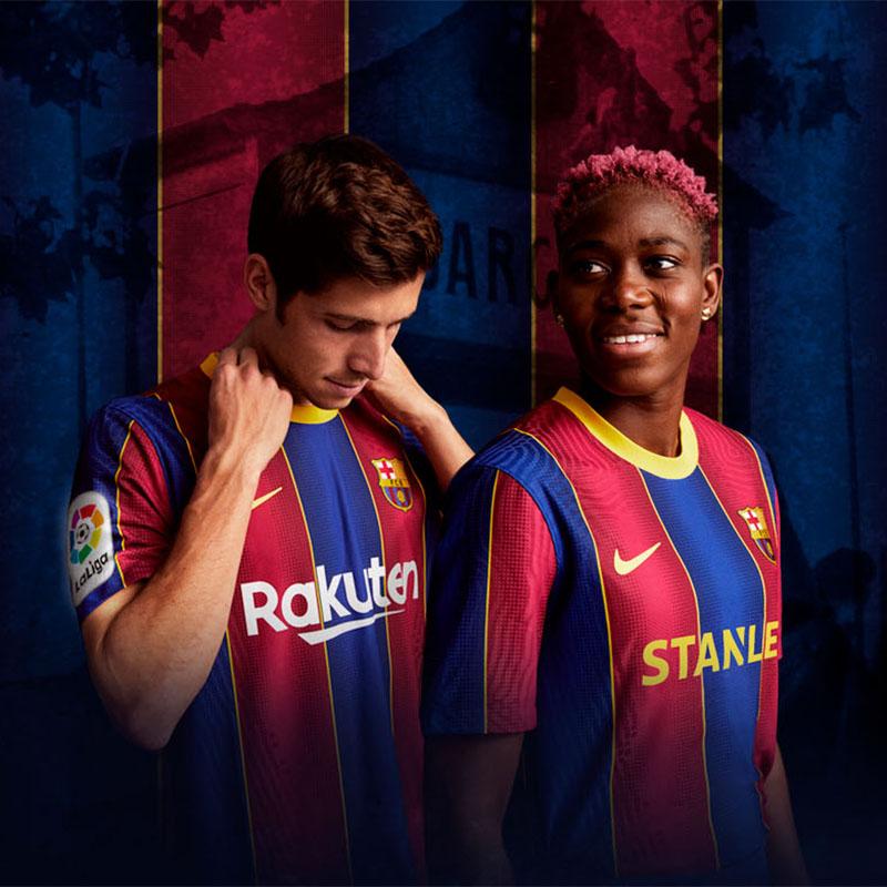 Camisas do FC Barcelona 2020-2021 Nike