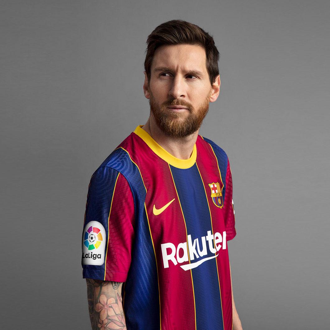 Camisas do FC Barcelona 2020-2021 Nike Messi