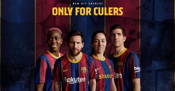 Camisas do FC Barcelona 2020-2021 Nike abre