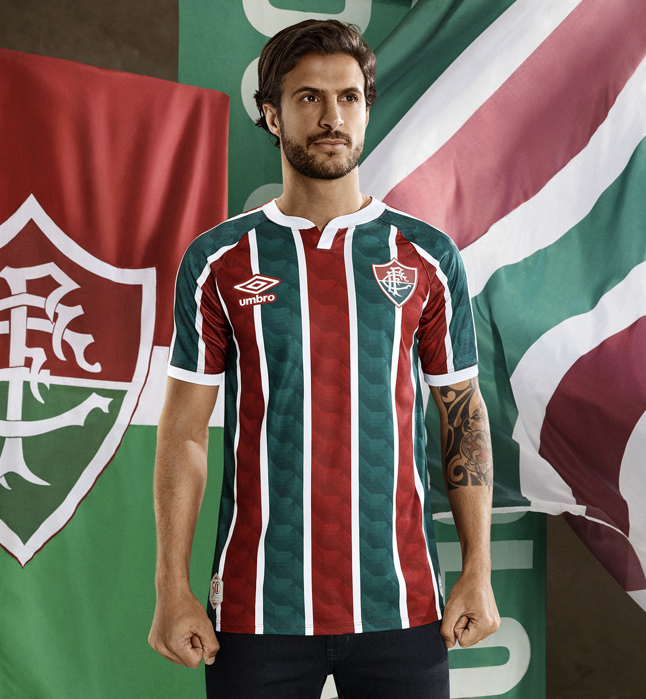 Camisas do Fluminense 2020-2021 Umbro Titular 2