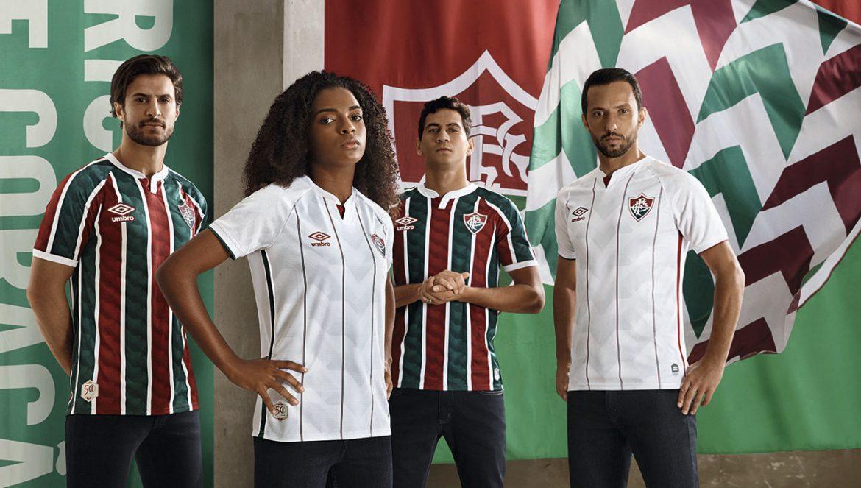 Camisas do Fluminense 2020-2021 Umbro abre