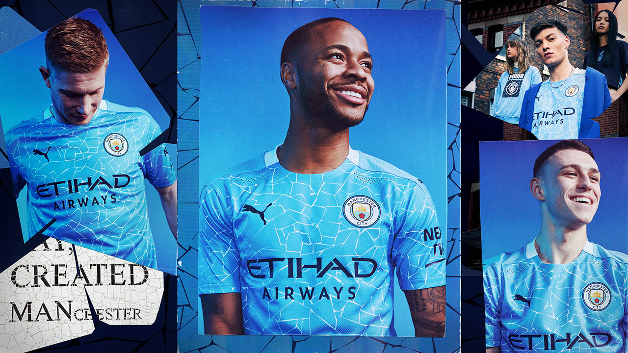 Novas Camisas Do Manchester City 2020 2021 Puma Mantos Do Futebol
