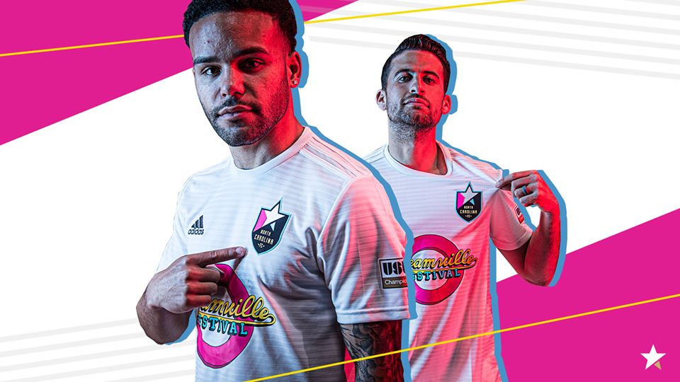 Camisas do North Carolina FC 2020 Adidas