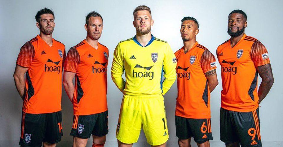 Camisas do Orange County 2020 Adidas