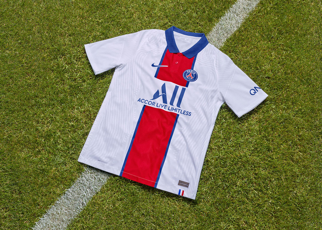 Camisas do PSG 2020-2021 Nike Reserva