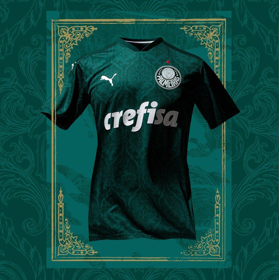 Camisas do Palmeiras 2020 PUMA Titular