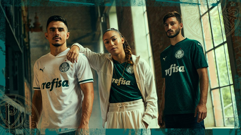 Camisas do Palmeiras 2020 PUMA abre