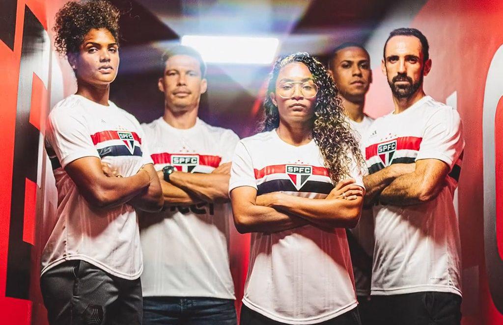 Camisas do São Paulo FC 2020 Adidas 2