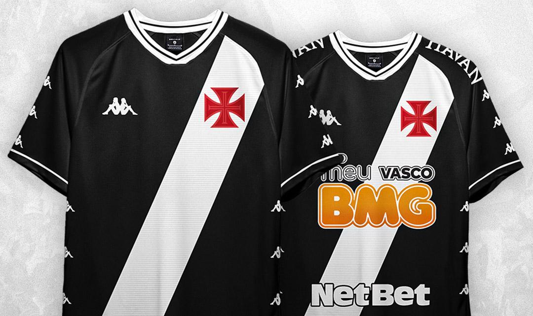 Camisas do Vasco da Gama 2020 Kappa Edgar Palmeira