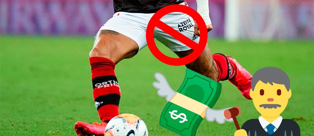 Flamengo busca indenização da Azeite Royal na justiça