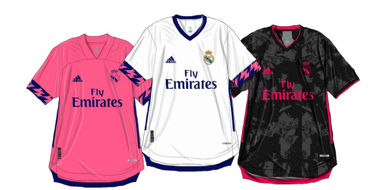 Informações das camisas do Real Madrid 2020-2021 Adidas