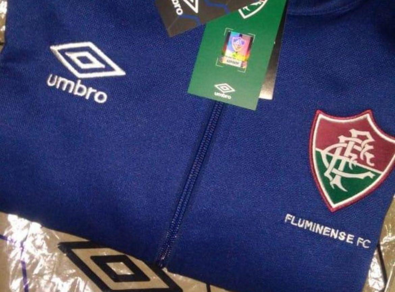 Jaqueta Fluminense Umbro abre
