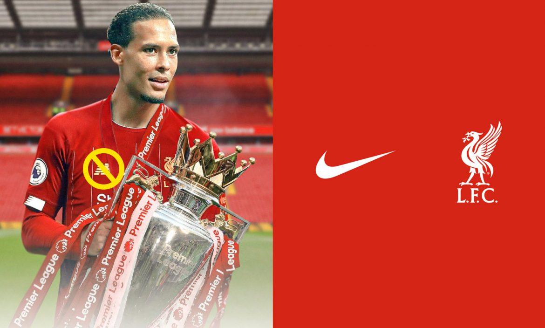Liverpool Nike x New Balance troféu