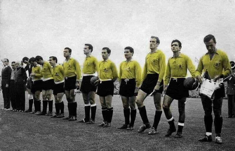 O dia que a Seleção Argentina jogou de amarelo