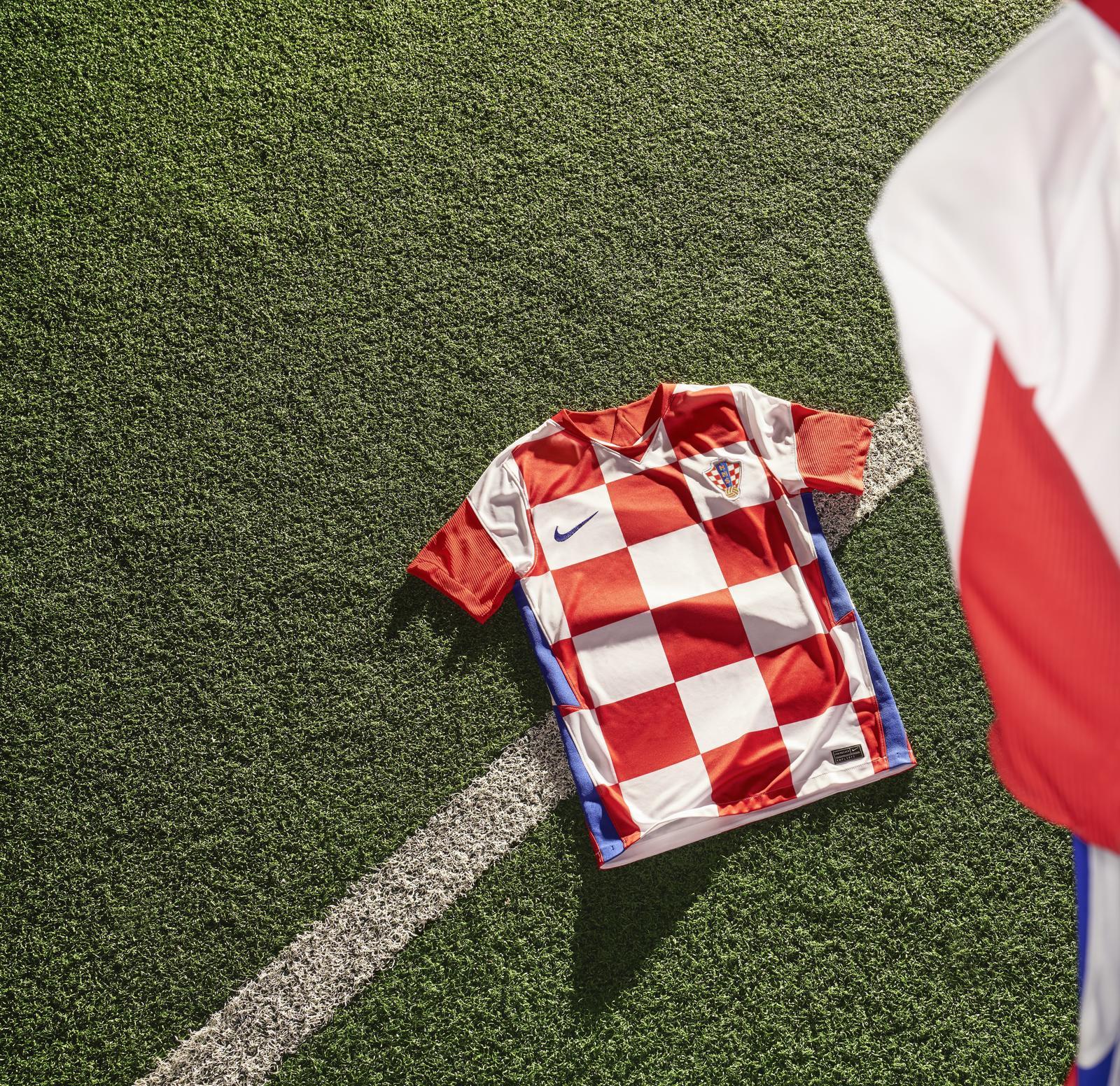 Camisas da Croácia 2020-2021 Nike